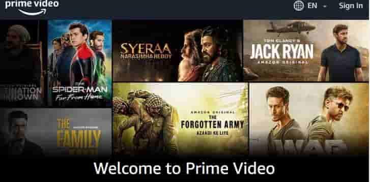 If Showbox down - Amazon Prime Video