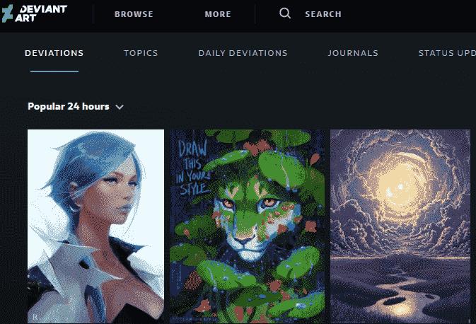 DevianArt: Tumblr Alternative for Sharing Artwork