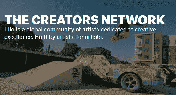 Ello is a global community of artists