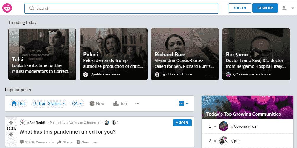 Reddit: A worthy Tumblr Alternative in 2020