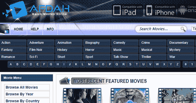 10 Sites Like Afdah to Watch Movies & TV Shows Online