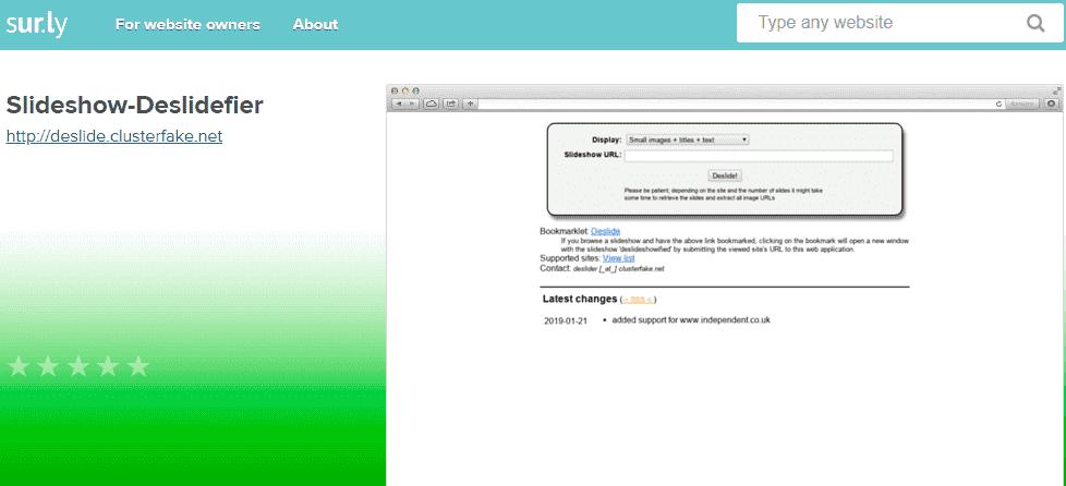 Deslide: Best Way To Remove Slideshow From Website in 2020