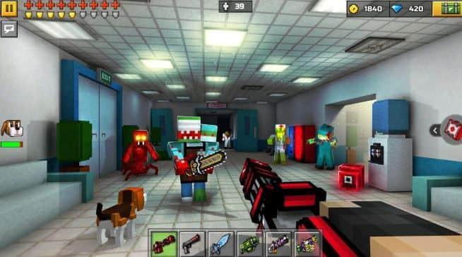 Pixel Gun 3D MOD APK 17.7.2 (Unlimited Coins & Gems)