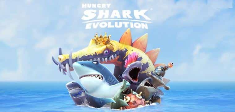 Hungry Shark Evolution Poster