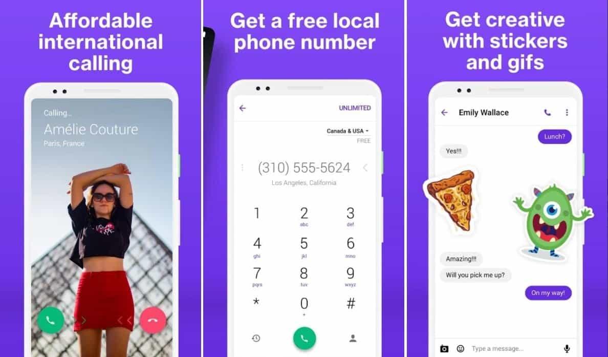 TextNow Premium APK Screenshots