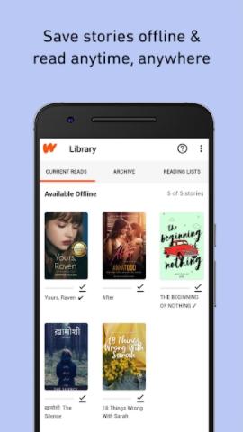 Wattpad premium screenshot 4